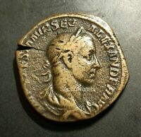 Sesterce. Alexandre Sévère Rome RIC 466/d