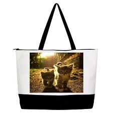 Cat  Bag Handbag Purse Tote Shopper
