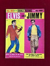 "1956, Elvis Presley, ""ELVIS and JIMMY"" Magazine (No Label) Scarce (James Dean)"