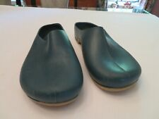 Ladies CPP Green Rubber Garden Clogs Solid Foot Cover Size 10.5