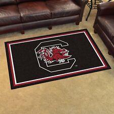 South Carolina Gamecocks 4' X 6' Decorative Ultra Plush Carpet Area Rug