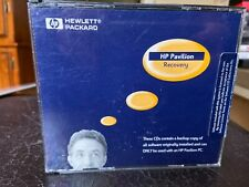 Hewlett Package (H.P.) Pavilion Recovery. 3 CD's. Backup Copy of H.P. software.