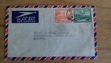 British Guiana GVI 1954 Postal Stationery Air Mail Letter To Walthamstow England