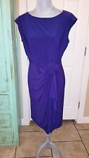 JONES STUDIO, Purple Stretchy Sleeveless Dress, size 8