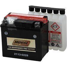Moose Racing - MTZ7S-BS - AGM Maintenance-Free Battery Honda,Yamaha TRX450ER,Rap