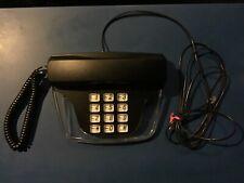 Vintage Lenoxx Sound Fashion Kb1305 Desk Phone Black With Clear Buttons