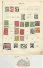 Australia Collection 1913-1940 o 2 Scott International Pages