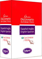 GRAN DICCIONARIO INTERACTIVO ESPAÑOL-INGLÉS ENGLISH-SPANISH, CON CD ROM