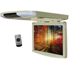 "TVIEW T1588IRTAN Tview 15.4"" Wide Screen LED Flip Down Monitor (Tan)"