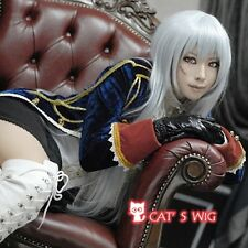 APH Axis Powers Hetalia Prussia silver white cosplay wig