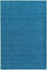 Tapis bleu pour la maison, 60 cm x 60 cm