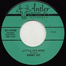 ** BENNY JOY  LITTLE RED BOOK  CRASH THE PARTY  TOP TEN ROCKABILLY TWIN SPIN!!