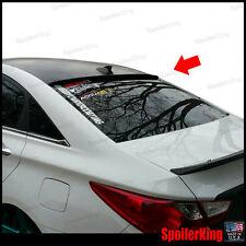 Rear Roof Spoiler Window Wing (Fits: Hyundai Sonata 2011-14) SpoilerKing