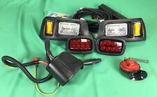 Club Car DS golf cart LED light kit, LED headlights & LED Taillights 1993-up