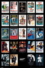 James Bond 007 Spy Film Movie Series Franchise 24 Movies Spectre Poster - 24x36