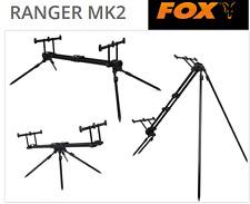 Fox Ranger Pod MK2 3er Rod Pod für Karpfenangler, Rutenhalter für 3 Angelruten
