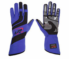 LRP Kart Racing Gloves- Speed Gloves Black/Blue