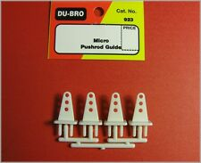 Du-Bro 923 Micro Pushrod Guides Qty (4)