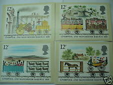 UNITED KINDOM - Liverpool & Manchester Railway Maxi Cards
