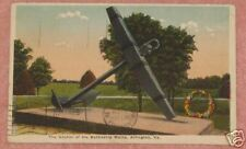 Anchor of the Battleship Maine, Arlington, Virginia