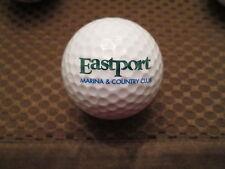 LOGO GOLF BALL-EASTPORT MARINA & COUNTRY CLUB...NEW YORK...