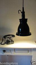Industrielampe Arbeitslampe Hängelampe Deckenlampe Handlampe Emaille