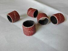 Cilindri abrasivi, 13 mm, grana 60, n.10 pezzi , spedizione veloce
