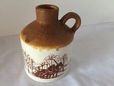 Laurentian Pottery Handcrafted Canadian Maple Syrup Jug Turkey Hill Farm Quebec