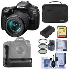 Canon EOS 90D DSLR Camera with EF-S 18-135mm IS USM Lens - With Battery Grip Kit
