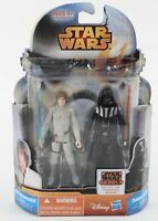 Hasbro 2014 Star Wars Luke Skywalker & Darth Vader Action Figures 1032V