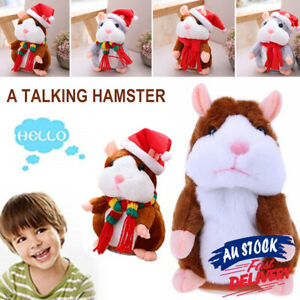 Mimicry Chat Talking Hamster Pet Record Mouse Nod Xmas Children Gift Plush Toy