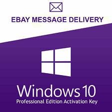 Windows 10 Pro Professional 32/ 64bit Genuine License Key Product Code oem auto