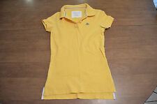 Aeropostale Yellow Polo Collar Short Sleeve Shirt Size Small (S)