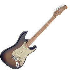 "Stagg 39"" Full Size SES50M ST Style Standard Electric Guitar - Vintage Sunburst"