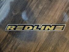 Redline BMX Gold Frame Sticker - 1990's Vintage