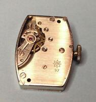 JUNGHANS Caliber 97 Mechanical Watch Movement - Good restoration / repair