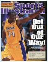 SI: Sports Illustrated June 4, 2001 Get Out of Our Way: Shaq, LA Lakers, VG