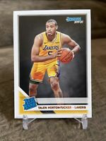 2019-20 Donruss Talen Horton-Tucker #248 Rated Rookie RC Los Angeles Lakers