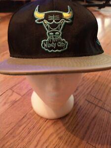 Chicago Bulls Windy City Hat Alternate Logo Cap Snapback New Era NBA 9Fifty