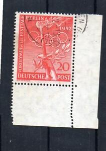 Berlin MiNr. 90 gestempelt Ecke / Eckrand aus 88 - 90 Vorolympische Festtage