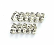 Toe Adjustable Ring Lot 1 g138 Wholesale 11Pc 925 Solid Sterling Silver Plain