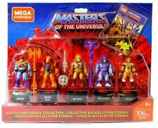 Battle for Eternia Masters of The Universe 5 Figure Set MEGA Construx GDV86