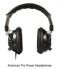Pro Power Headphones for Metal Detecting #90000 Works with Detector Very Nice