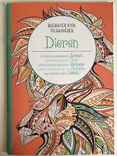 Livre, cahier de coloriage forme animaux, méditation, zen, art thérapie