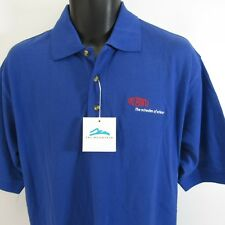 DuPont Polo Golf Shirt NEW Men's Size M Blue Medium NWT Miracles of Science