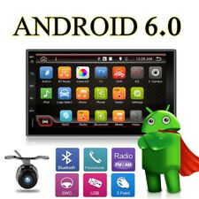 "7"" Android 6.0 Doppel 2Din Autoradio GPS NAVI READY WIFI 3G BT RDS USB+GPS Map"