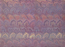 Italienisches Marmorpapier / Überzugspapier /  Nostalgiepapier 50 x 70 cm