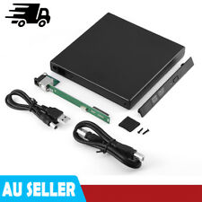 USB External Enclosure Case For 12.7mm SATA CD / DVD Optical Drive for Laptop