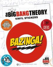 Big Bang Theory Bazinga Vinyle Autocollant - 1 feuilles, 5 autocollants