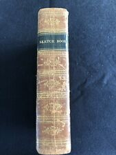 Washington Irving / The Sketch Book of Geoffrey Crayon 1822 Leather Bound 4 Vol